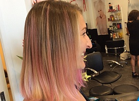 Straight Pink Hair