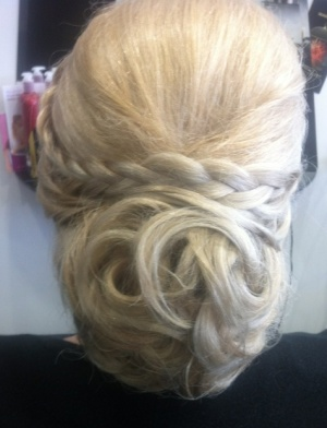 Wedding party hair styles Sunshine Coast