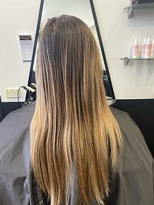 Hair Foils Before
