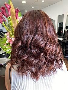 Mahogany Hair After